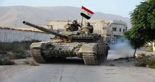 الجيش العربي السوري في ريف اللاذقية وحماه وادلب و في دير الزور ايضا