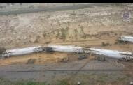 طوارئ في أستراليا بسبب خروج قطار شحن عن القضبان