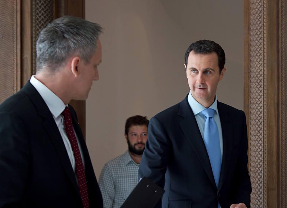 الأسد:الإرهابيين يتمتعون بإمدادات غير محدودة من مختلف البلدان