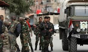الجيش السوري يتقدم في الشيخ مسكين في درعا وباتجاه مهين في حمص