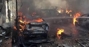 تفجير إرهابي في حمص أوقد نيران الغضب وأشعل المظاهرات: