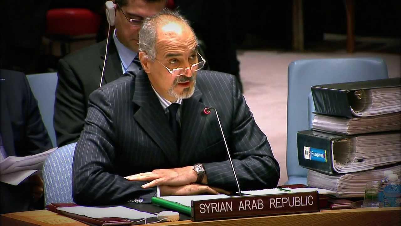 الجعفري: التنظيمات الإرهابية سطت على المساعدات الإنسانية التي أرسلت إلى المدنيين