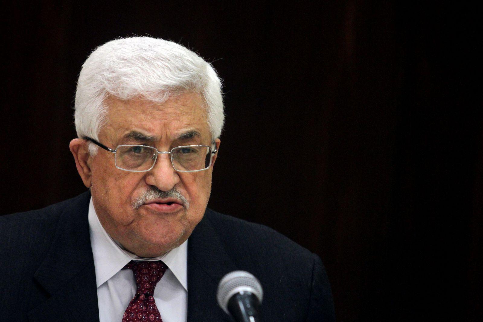 إصابة الرئيس الفلسطيني محمود عباس بـ