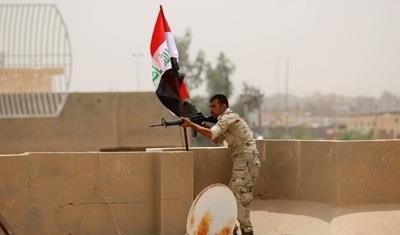 القوات العراقية تتقدم شمال صلاح الدين