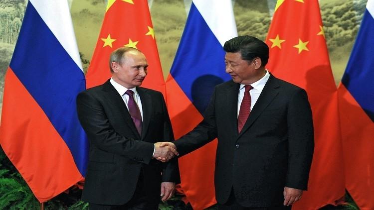 بوتين يبحث مع الرئيس الصيني الأزمة السورية ومحاربة الإرهاب الدولي
