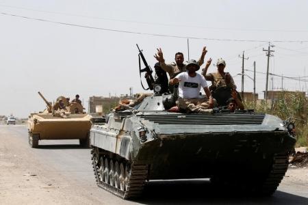 قائد عراقي يعلن هزيمة الدولة الإسلامية في الفلوجة