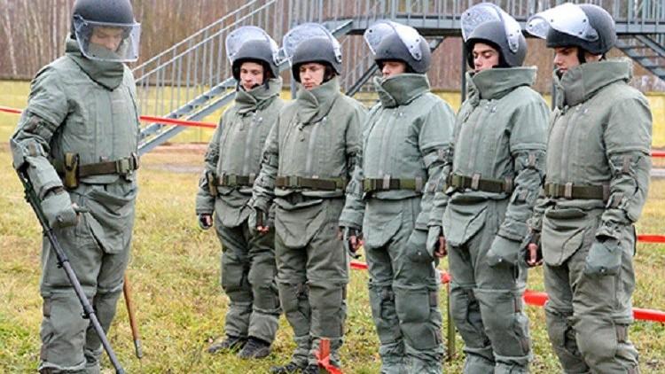 سر نجاح بعثة إزالة الألغام الروسية في تدمر