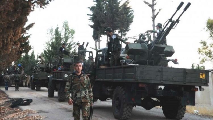 الجيش العربي السوري يدخل الحدود الإدارية للرقة