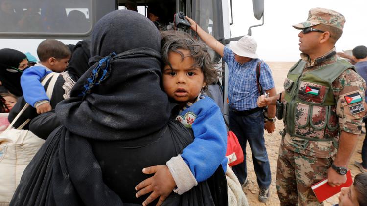 العفو الدولية: على الأردن إبقاء حدوده مفتوحة أمام اللاجئين السوريين