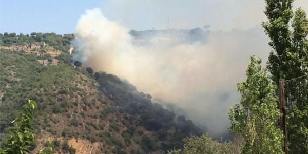 حريق في جعيتا يوقف التلفريك ويقفل المغارة الأثرية!