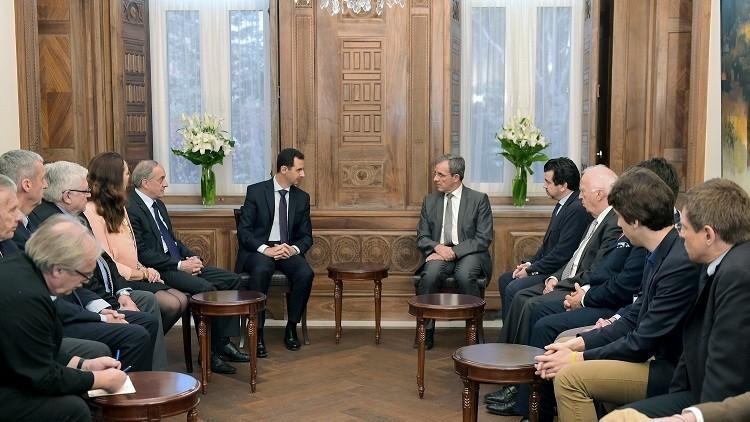وفد إيطالي في دمشق لتطبيع العلاقات