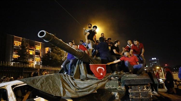 أردوغان يعلن إنهاء الانقلاب في تركيا