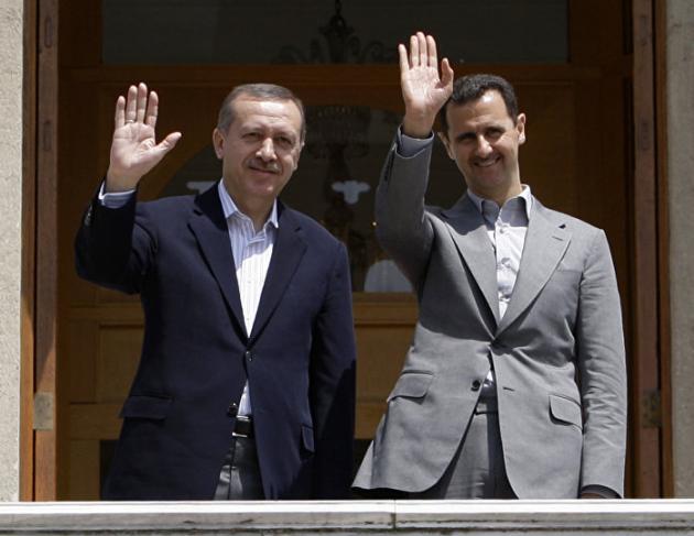 الرئيس الأسد يلتقي أردوغان في موسكو