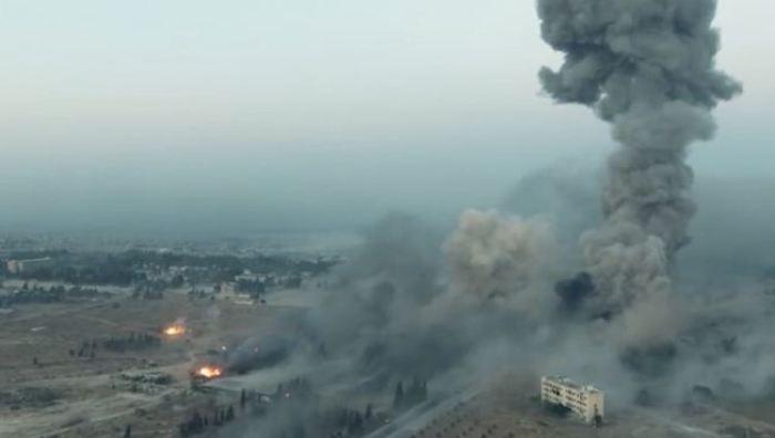 الجيش السوري يستعيد كلية التسليح جنوب حلب