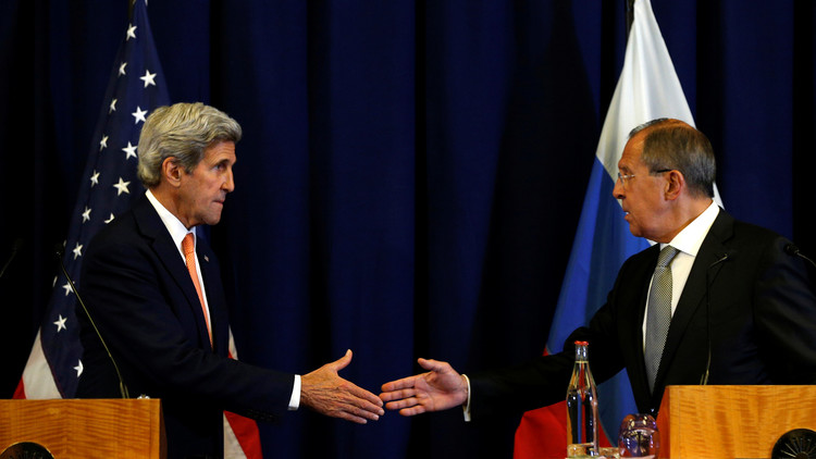 اتفاق روسي أمريكي لوقف الأعمال العدائية في سوريا يبدأ مساء الأحد