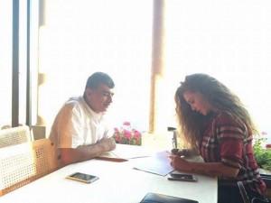 نيكول سابا تقتحم عالم الدراما العربية المشتركة من بابها الواسع