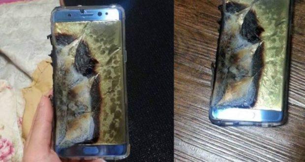 "ضربة كبرى لسامسونغ.. انفجار هواتف ""غالاكسي نوت 7"""