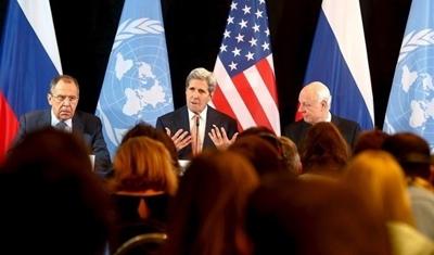 المجموعة الدولية لدعم سوريا تتفق على ضرورة استمرار وقف إطلاق النار