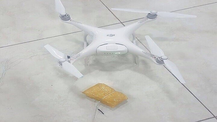 طائرة بدون طيار تنقل مخدرات داخل سجن بالكويت