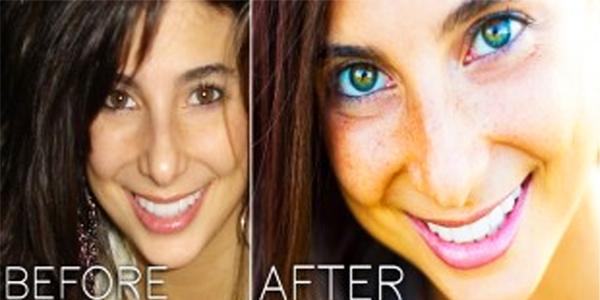 اتبعت نظاماً غذائياً معيناً فتغيّر لون عينيها من البنّي إلى الأزرق... فما هو؟
