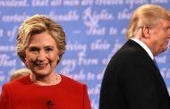 نقطتان تفصلان ترامب عن كلينتون في السباق الرئاسي