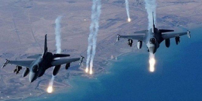 """""""تحالف واشنطن"""" يقر باستخدام قنابل فوسفورية في سورية"""