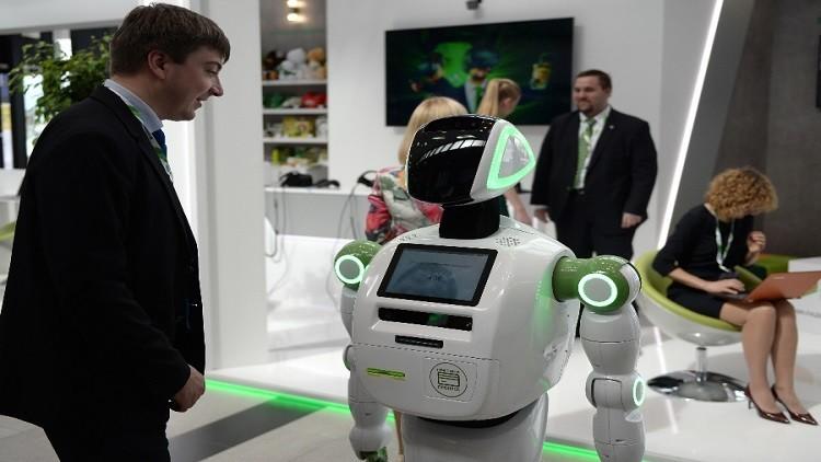 تقنيات المستقبل في منتدى بطرسبورغ الاقتصادي