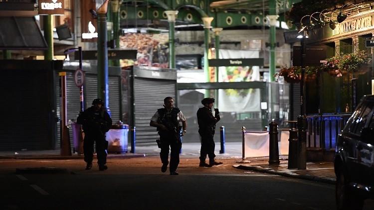إصابة رجل برصاصة في رأسه أثناء تصدي الشرطة لمنفذي هجمات لندن