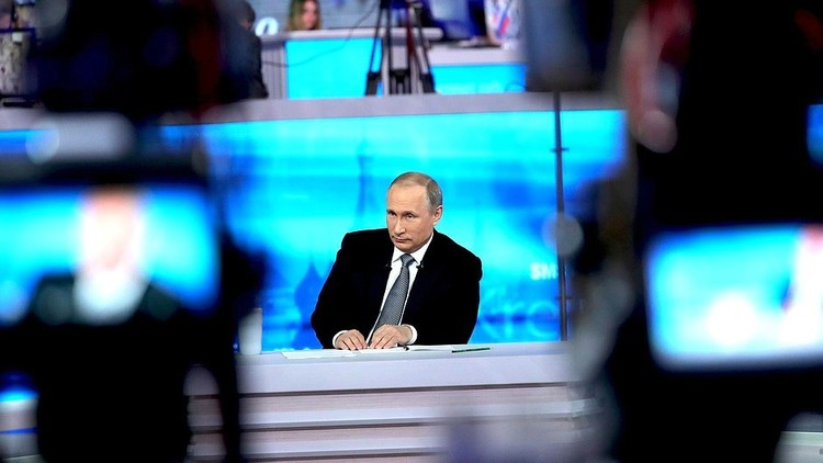 الكرملين يعلن عن موعد الخط المباشر مع بوتين