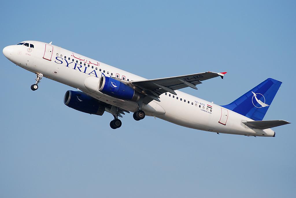 «الطيران السورية» تنفذ أولى رحلاتها من مطار الشارقة الى الباسل في اللاذقية