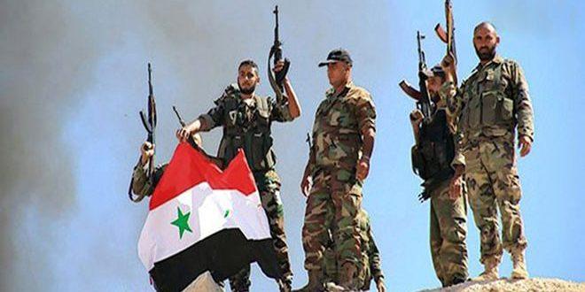 """الجيش العربي السوري يحكم سيطرته على عدد من النقاط المهمة بريف حمص الشرقي ويوقع أكثر من 60 قتيلاً في صفوف """"داعش"""" بدير الزور"""