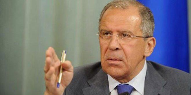 لافروف: نتوقع من محادثات جنيف التقدم في جدول أعمال السلال الأربع