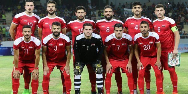 منتخب سورية الأولمبي يواجه نظيره البحريني في ختام تحضيراته لتصفيات آسيا