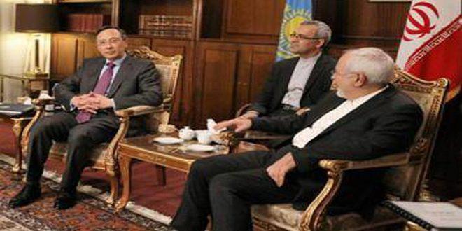 ظريف وعبد الرحمانوف يبحثان مكافحة الإرهاب وترسيخ عملية أستانا حول سورية