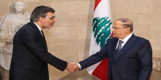 عون: أهمية الحوار والمحادثات في أستانا لإنهاء الأزمة في سورية