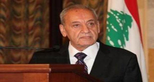 بري: التواصل والتعاون بين سورية ولبنان لمصلحة البلدين