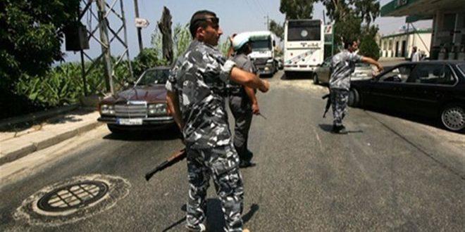 """الأمن اللبناني يوقف إرهابيا من تنظيم """"داعش"""""""