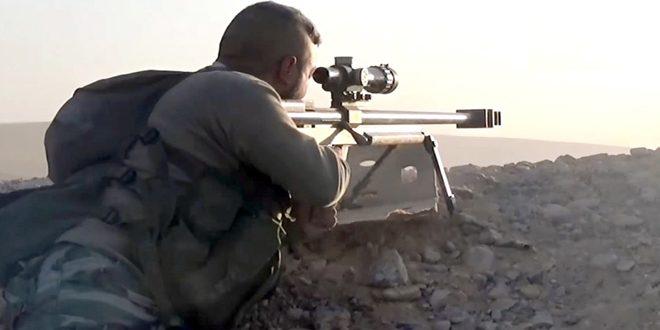 الجيش العربي السوري يطوق السخنة من 3 اتجاهات بريف حمص الشرقي ويحبط هجوما لإرهابيي داعش في دير الزور