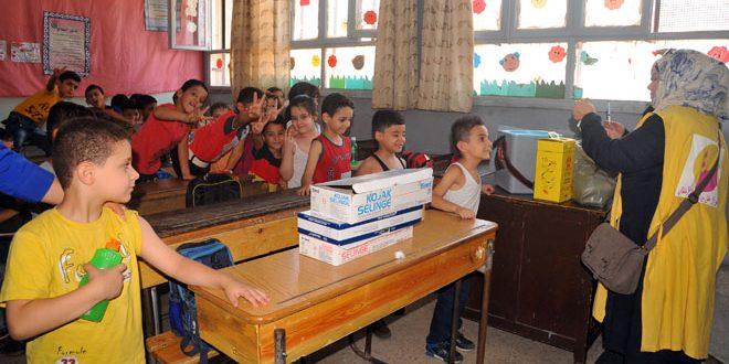 الوصول لـ 6ر3 ملايين طفل هدف حملة التلقيح ضد الحصبة