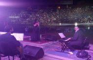 فايا يونان تسحر قلوب الحاضرين في ملعب الباسل باللاذقية