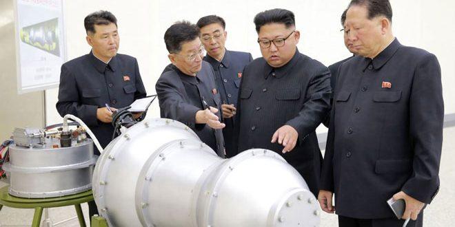 كوريا الديمقراطية تجري بنجاح تجربة لقنبلة هيدروجينية
