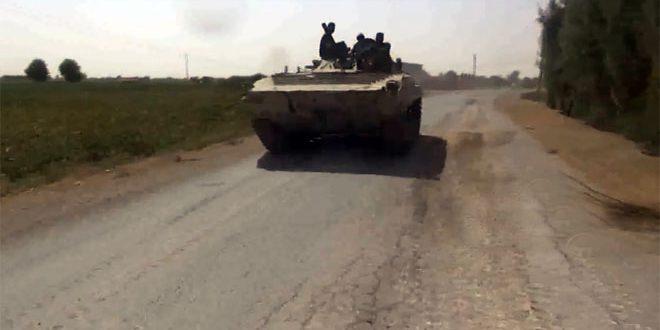 الجيش يستعيد السيطرة على مدينة الميادين ويكبد إرهابيي داعش خسائر فادحة في دير الزور