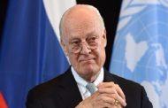 دي ميستورا يبحث في موسكو استئناف المحادثات السورية في جنيف