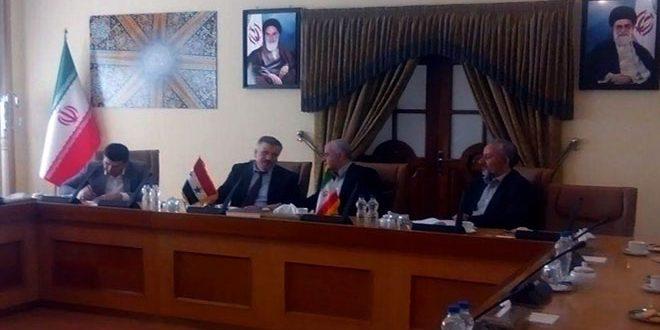 طهران: تفعيل الخط الائتماني الثاني بين سورية وإيران خلال الأسبوعين القادمين