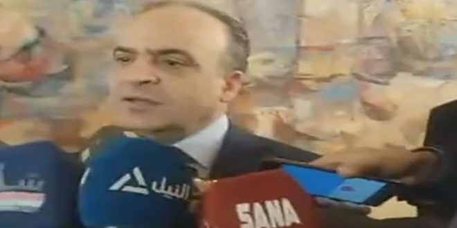 المهندس خميس: موعد انطلاق الدورة الستين لمعرض دمشق الدولي بين 6 ولغاية 15 أيلول العام المقبل