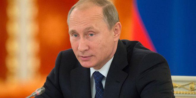 بوتين يبحث مع مجلس الأمن الروسي التحضيرات لمؤتمر سوتشي