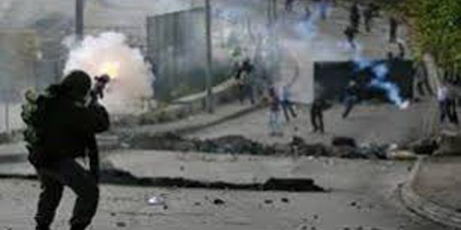 إصابة 106 فلسطينيين برصاص قوات الاحتلال الإسرائيلي