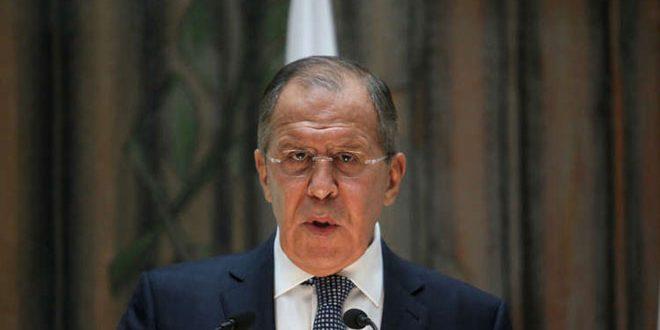 لافروف: الوجود العسكري الأميركي غير القانوني في سورية يعيق العملية السياسية