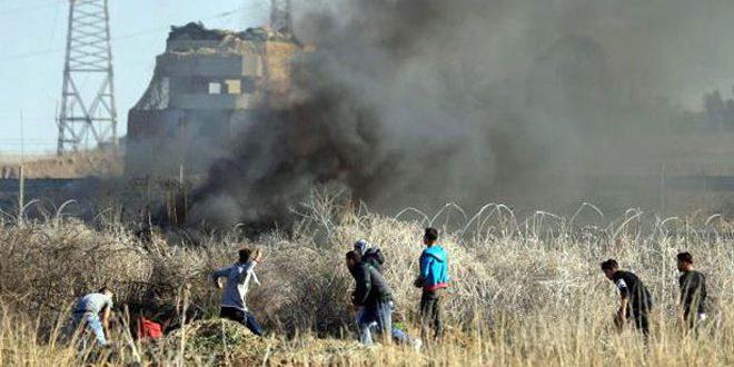 استشهاد فلسطينيين اثنين جراء قصف لطيران العدو الإسرائيلي على قطاع غزة