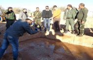 وحدة من الجيش تعثر على 3 لوحات فسيفسائية أثرية في محيط بلدة عقيربات بريف حماة